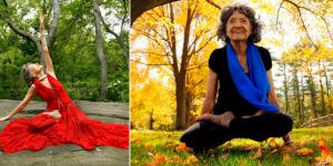 Conoce a Tao Porchon-Lynch, con 98 años y sigue practicando yoga
