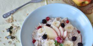 Los beneficios y la belleza de los desayunos servidos en tazones