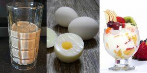 Alimentos con proteínas que deberíamos consumir después de nuestra rutina de ejercicios