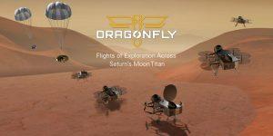 Dragonfly el drone espacial que navegará por la luna de Saturno, Titan