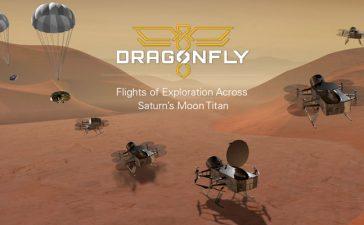 dragonfly el drone de la NASA con destino a Titan