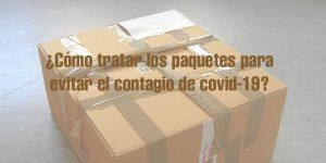 ¿Cómo tratar los paquetes de Amazon contra el coronavirus?