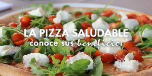La pizza saludable, como podemos obtener aportes para nuestro cuerpo