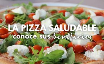 la pizza saludable