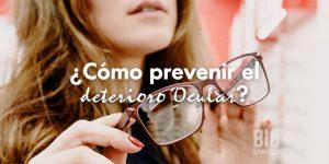 Como prevenir el deterioro ocular comiendo sanamente
