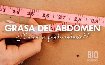 reducir la grasa del abdomen