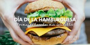 Día de la hamburguesa, ¿hay alguna forma de consumirla saludablemente?